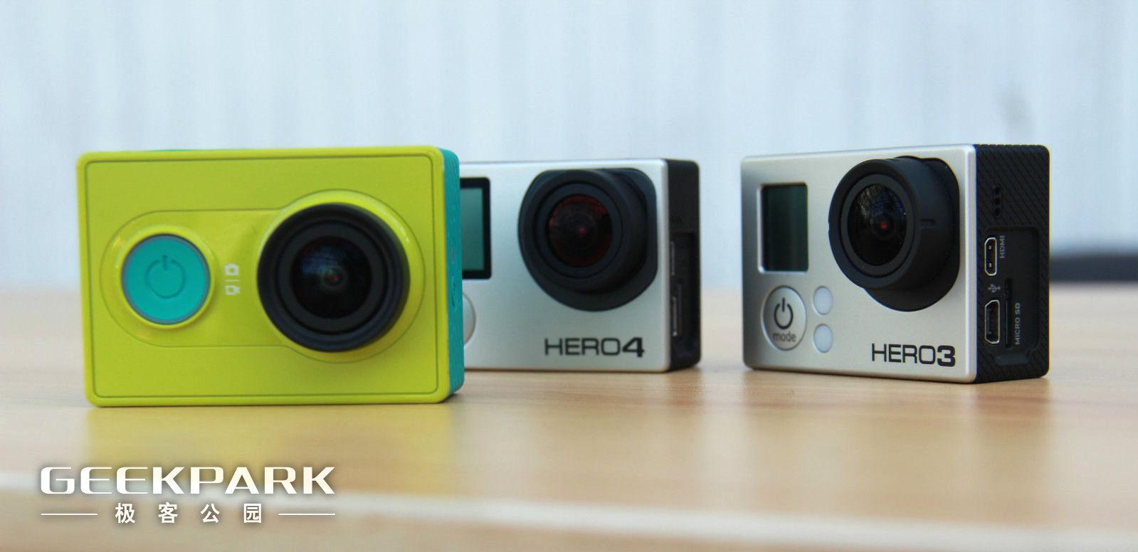首发体验 | 小米的运动相机与GoPro能比吗? | 极客公园