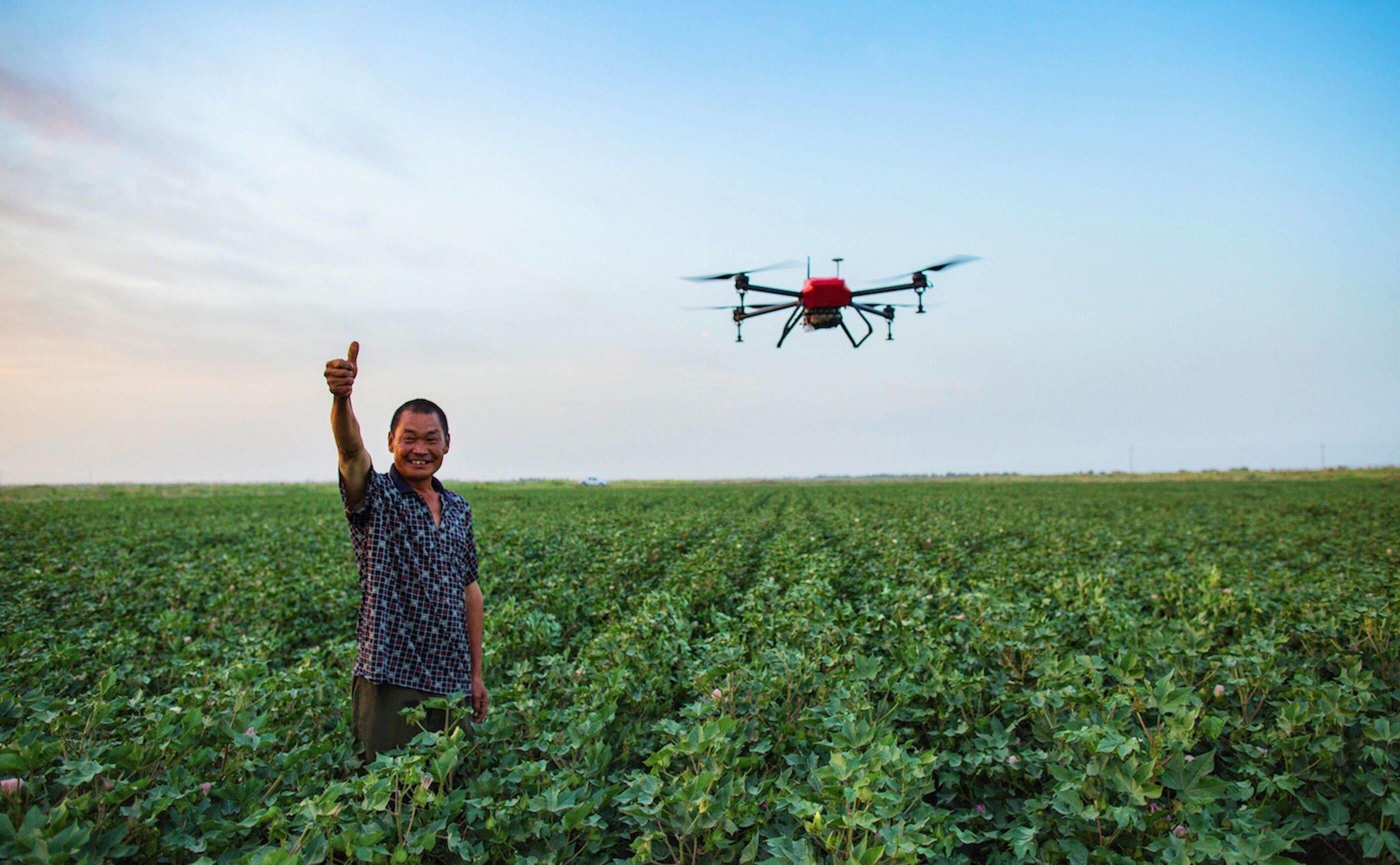 行业资讯_想要农业赶上时代,先要让无人机赶上农业 | 极客公园