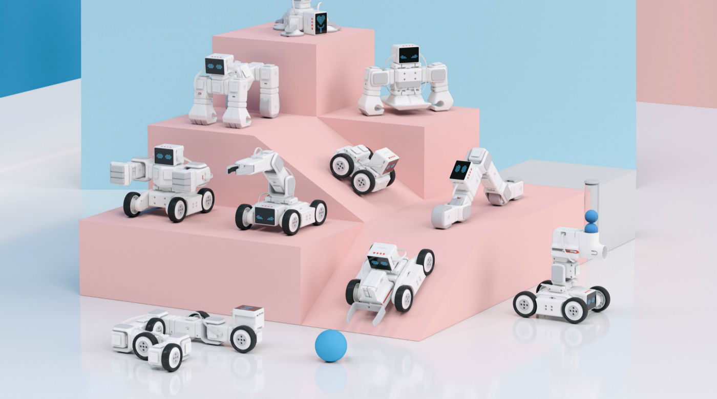 面向爱编程的孩子,Makeblock 这三个新「玩具